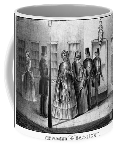 1850 Coffee Mug featuring the photograph Prostitution, 1850 by Granger