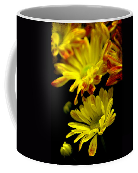Flowers Coffee Mug featuring the photograph Protecting by Angelina Vick