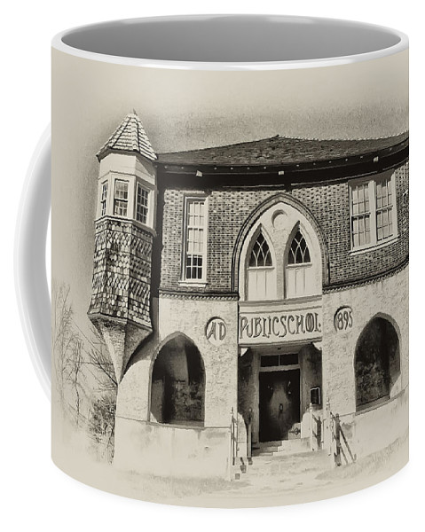 Bluebell Coffee Mug featuring the photograph Public School by Bill Cannon