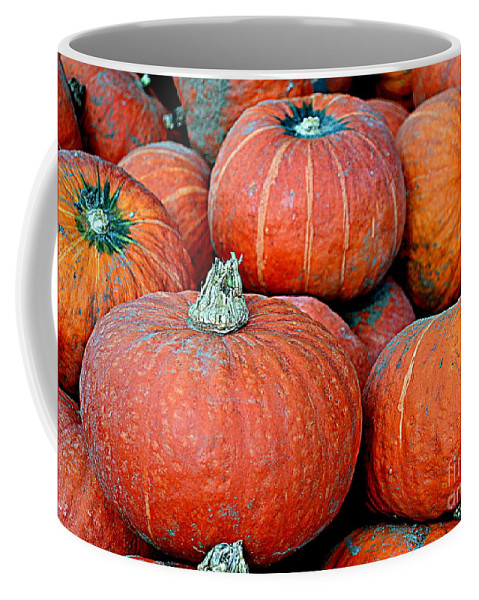 Pumpkin Coffee Mug featuring the photograph Pumpkin Patch by Kevin Fortier