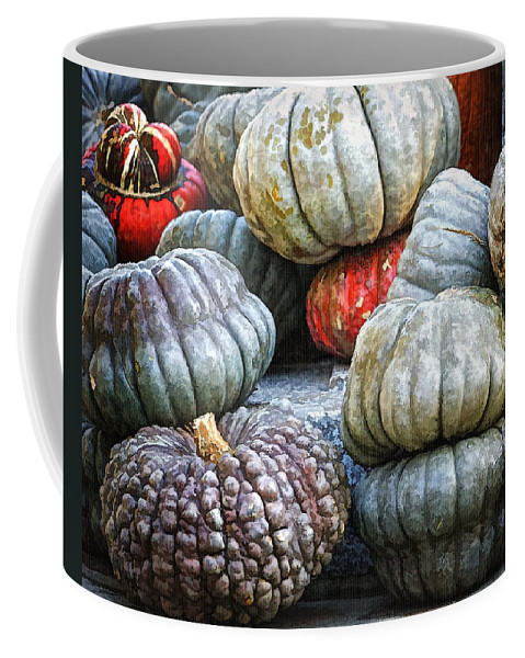 Autumn Coffee Mug featuring the photograph Pumpkin Pile II by Joan Carroll