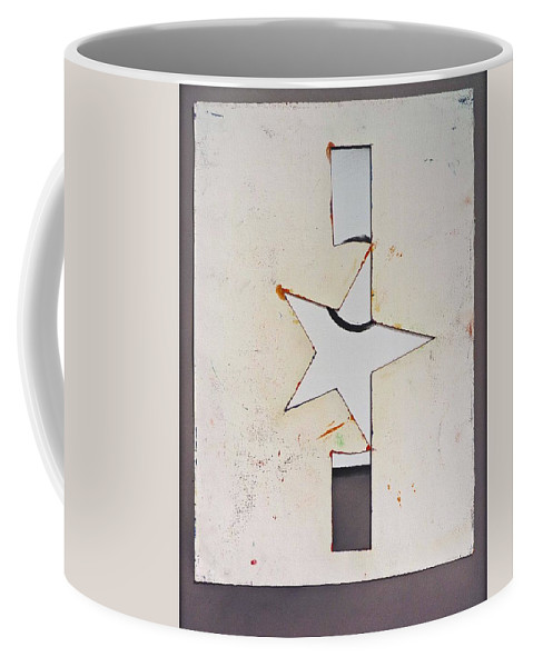 Decal Coffee Mug featuring the painting Pure Theatre by Charles Stuart