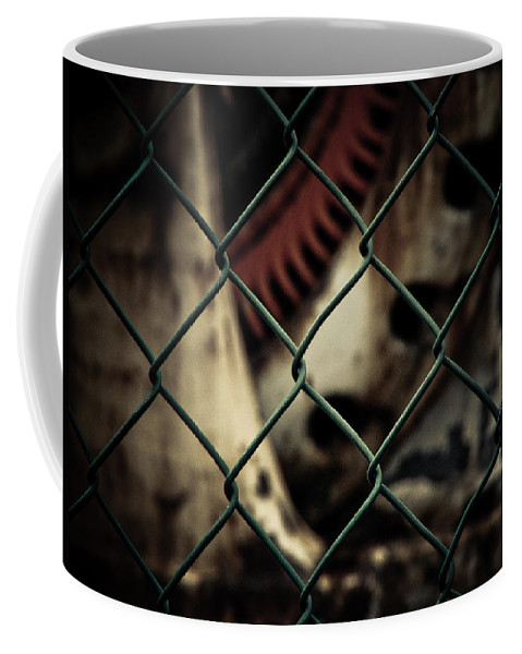Fence Coffee Mug featuring the photograph Putting Up The Guard by Jessica Brawley