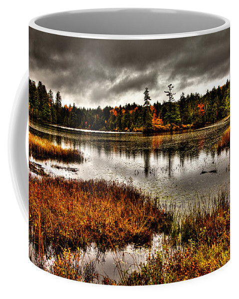 Adirondack's Coffee Mug featuring the photograph Raquette Lake In Upstate New York by David Patterson