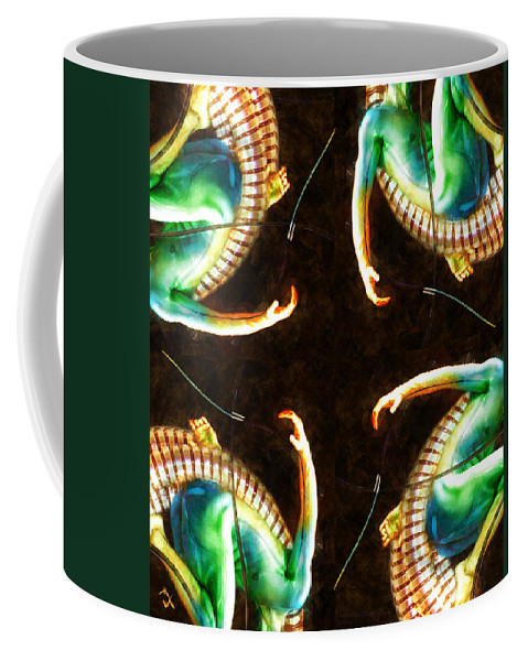 Arms Coffee Mug featuring the painting Reaching Out by Adam Vance