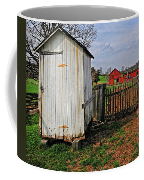 Farm Coffee Mug featuring the photograph Ready For Planting by Dave Mills