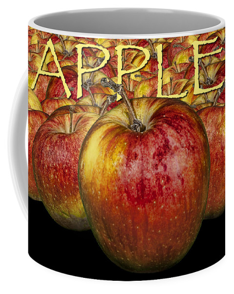 Art Coffee Mug featuring the photograph Red Apples by Randall Nyhof