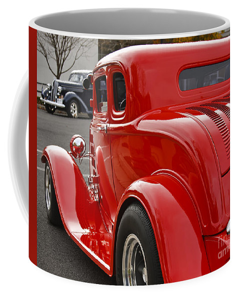 Classic Coffee Mug featuring the photograph Red Coupe by Dennis Hedberg
