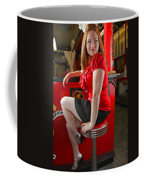 Redhead Coffee Mug featuring the photograph Red by Rick Berk