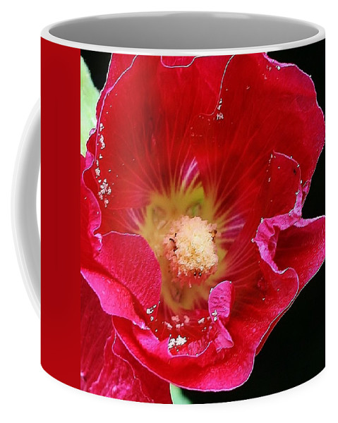 Flora Coffee Mug featuring the photograph Red Tango by Bruce Bley