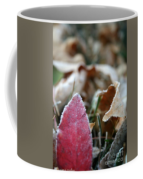 Outdoors Coffee Mug featuring the photograph Red Thumbs Up by Susan Herber