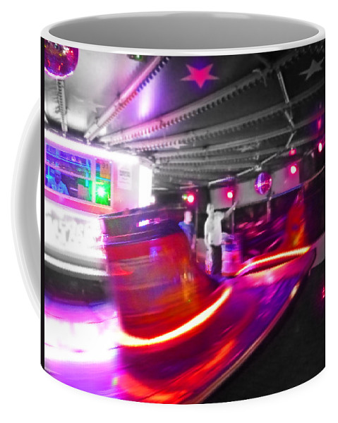 Waltzer In A Fairground Coffee Mug featuring the photograph Red Waltz by Charles Stuart
