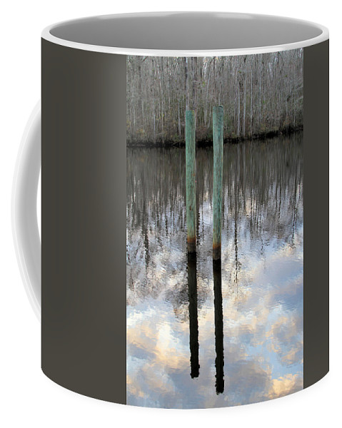 Reflections Coffee Mug featuring the photograph Reflections Of Us by Jennifer Stockman