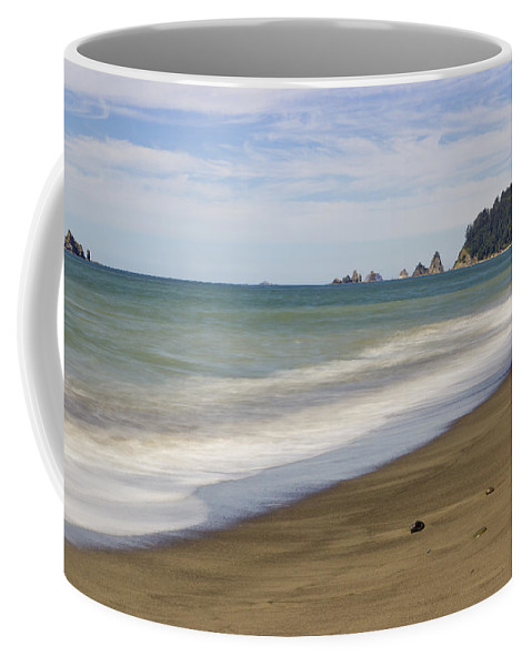 Rialto Beach Coffee Mug featuring the photograph Rialto Beach by Heidi Smith