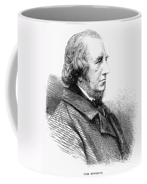 1865 Coffee Mug featuring the photograph Richard Monckton Milnes by Granger