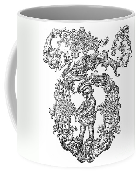 16th Century Coffee Mug featuring the photograph Richard Tarlton (1530-1588) by Granger