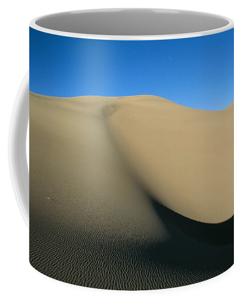 North America Coffee Mug featuring the photograph Rippled Sand Dunes In Great Sand Dunes by Michael S. Lewis