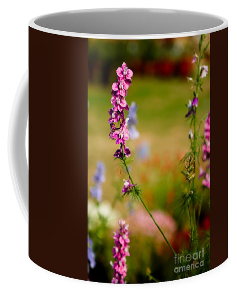 Flower Coffee Mug featuring the photograph Rising High by Syed Aqueel