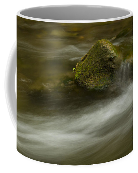 Whitewater Coffee Mug featuring the photograph River Rapid 7 by John Brueske