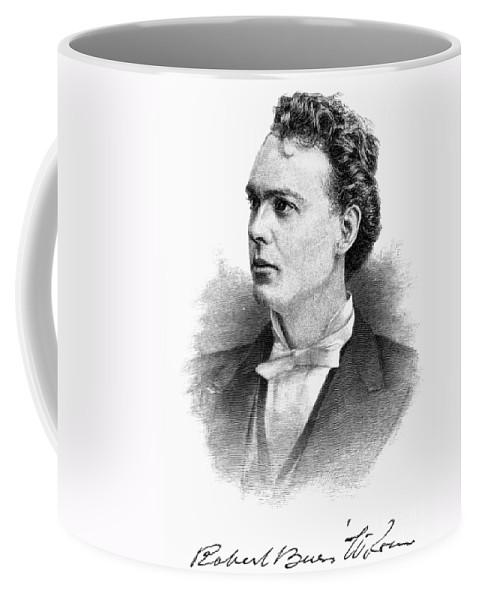 1887 Coffee Mug featuring the photograph Robert Burns Wilson by Granger
