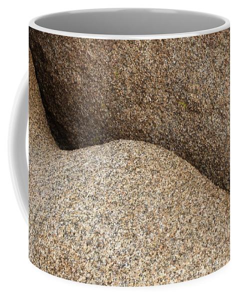 Rock Art Coffee Mug featuring the photograph Rock Art 1 by Bob Christopher