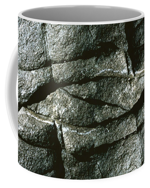Rocks Coffee Mug featuring the photograph Rock Eye of Ogunquit by Nancy Griswold