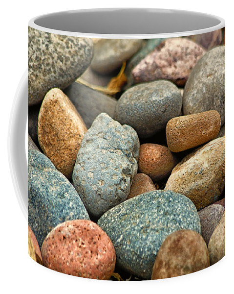 Rocks Coffee Mug featuring the photograph Rocks by Lauri Novak