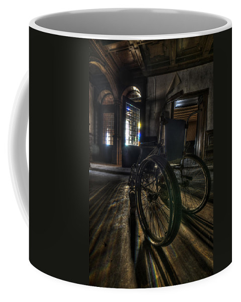 Abandon Coffee Mug featuring the photograph Roll Up by Nathan Wright