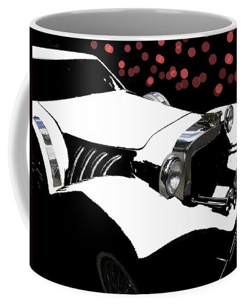 Rolls Royce Coffee Mug featuring the photograph Rollin Rollin Rolls Royce by Ericamaxine Price