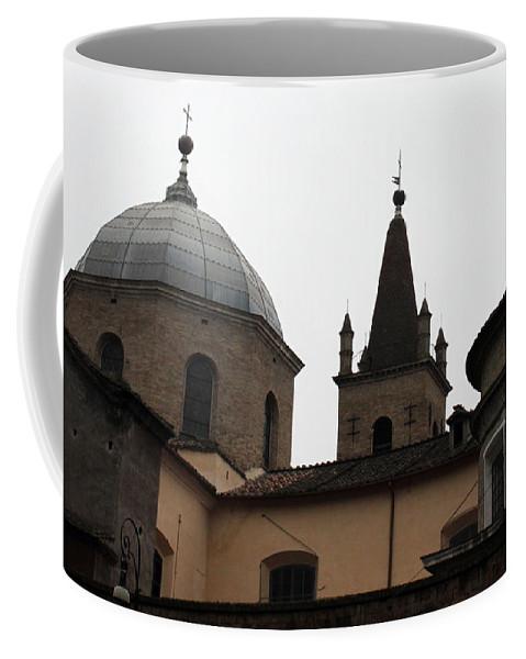 Rome Coffee Mug featuring the photograph Rome Church by Munir Alawi