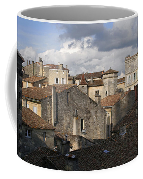 Roof Top View Coffee Mug featuring the photograph Roof Top View by Wes and Dotty Weber
