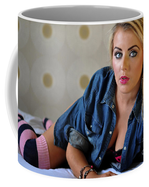 Yhun Suarez Coffee Mug featuring the photograph Rosey18 by Yhun Suarez