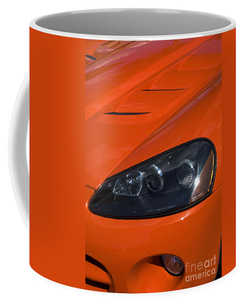 Viper Coffee Mug featuring the photograph Route 66 Classic Cars 8 by Bob Christopher