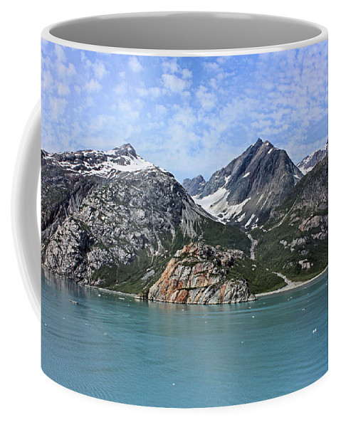 Glacier Bay Coffee Mug featuring the photograph Russell Island by Kristin Elmquist
