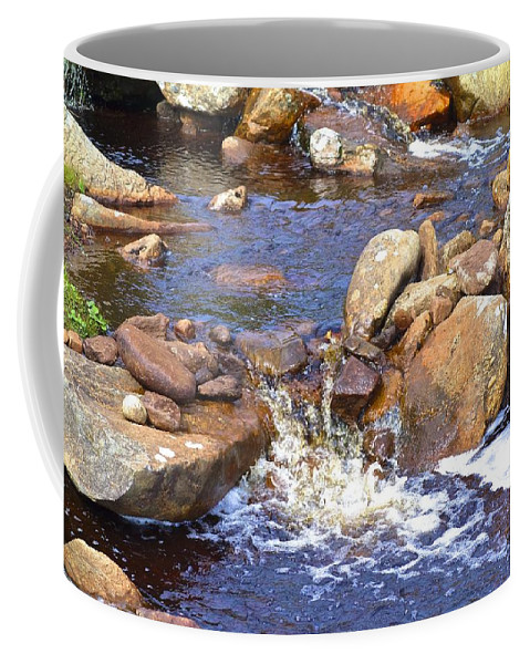 Keem Coffee Mug featuring the photograph Rusty River by Charlie and Norma Brock