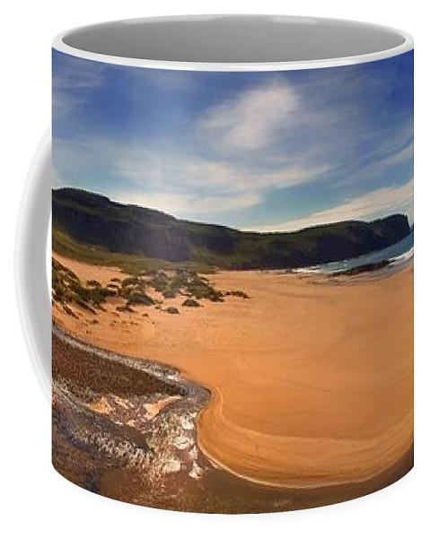 Sandwood Bay Coffee Mug featuring the photograph Sandwood Bay by Joe Macrae