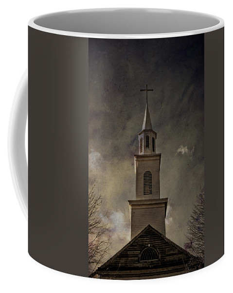 Steeple Coffee Mug featuring the photograph Say A Little Prayer For Me by Trish Tritz