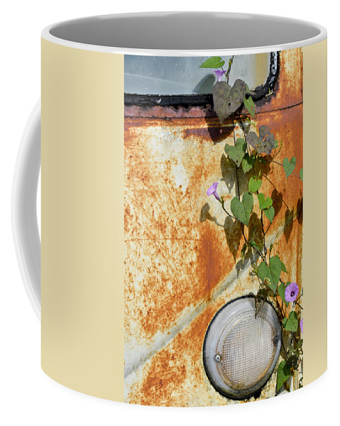 Volkswagen Coffee Mug featuring the photograph Say Goodbye by Carolyn Marshall