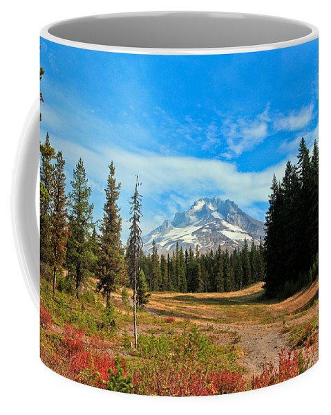 Mount Hood Coffee Mug featuring the photograph Scenic Mt. Hood In Oregon by Athena Mckinzie