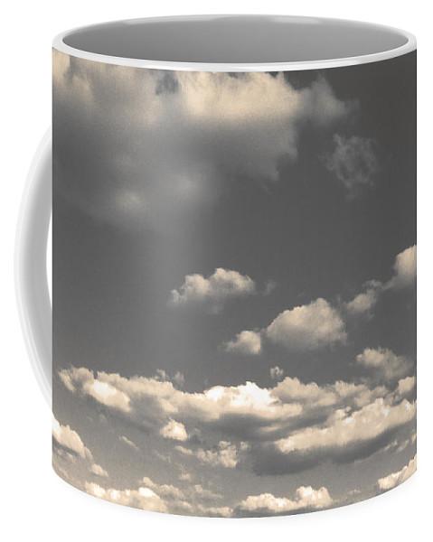 Clouds Coffee Mug featuring the photograph Selenium Clouds by Julie Niemela