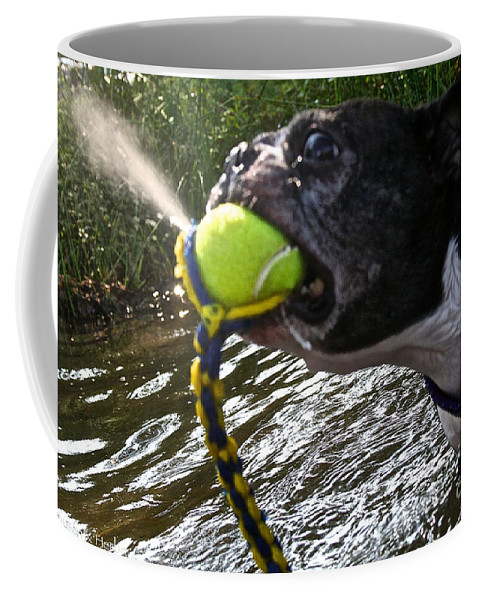 Outdoors Coffee Mug featuring the photograph Self Made Geyser by Susan Herber