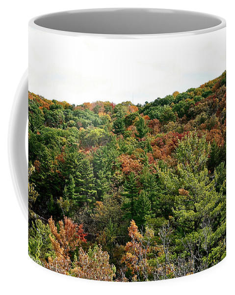 Landscape Coffee Mug featuring the photograph September Palate by Susan Herber