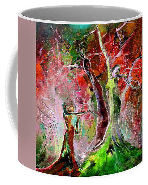 Fantascape Coffee Mug featuring the painting Serendipity by Miki De Goodaboom