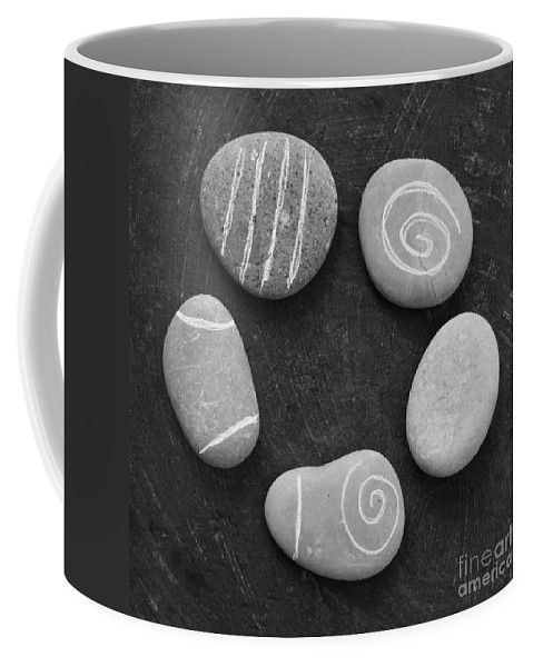 Stones Coffee Mug featuring the photograph Serenity Stones by Linda Woods