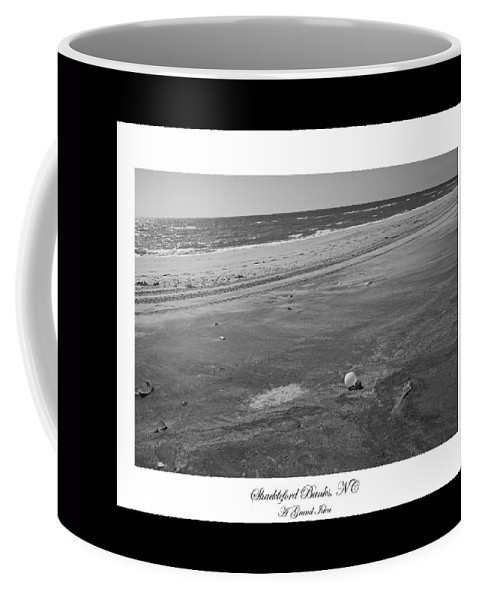 Shackleford Coffee Mug featuring the photograph Shackleford Banks A Grand Idea by Betsy Knapp