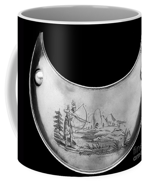 19th Century Coffee Mug featuring the photograph Shawnee Chest Ornament by Granger