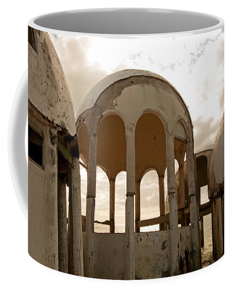 Bubble Houses Coffee Mug featuring the photograph Shell Of My Former Self by Christine Stonebridge