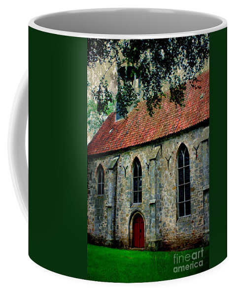Church Coffee Mug featuring the photograph Shelter From The Storm by Carol Groenen