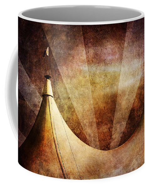 Circus Coffee Mug featuring the photograph Showtime by Andrew Paranavitana