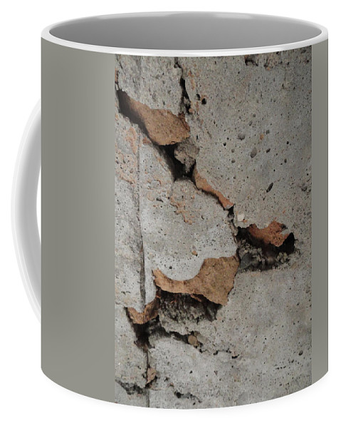 Rock Coffee Mug featuring the photograph Sideways Glance by Shannon Grissom